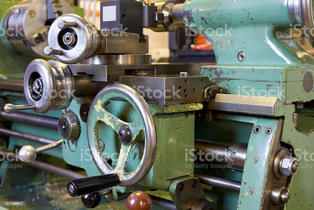 Tool and Die Machine stock photo