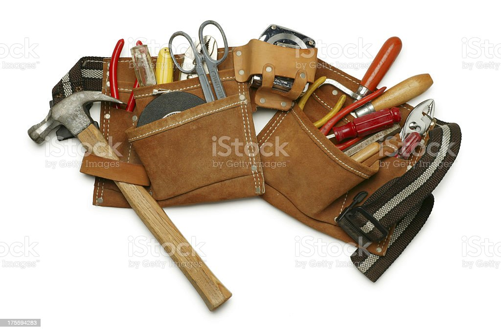 Tool Belt stock photo