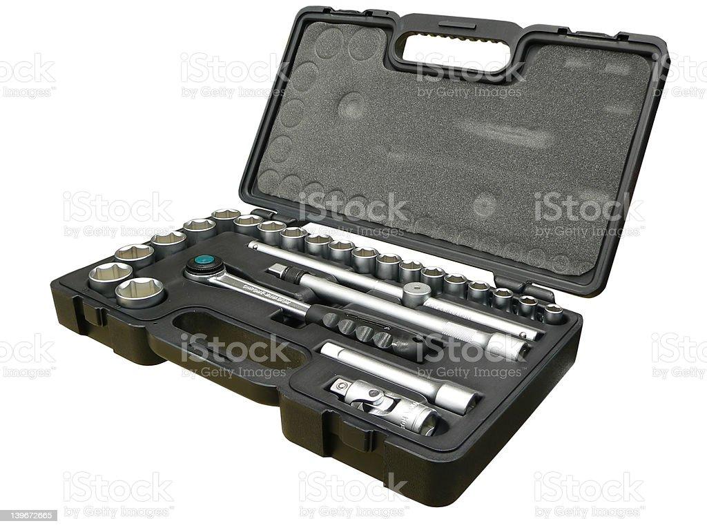 Tool box royalty-free stock photo