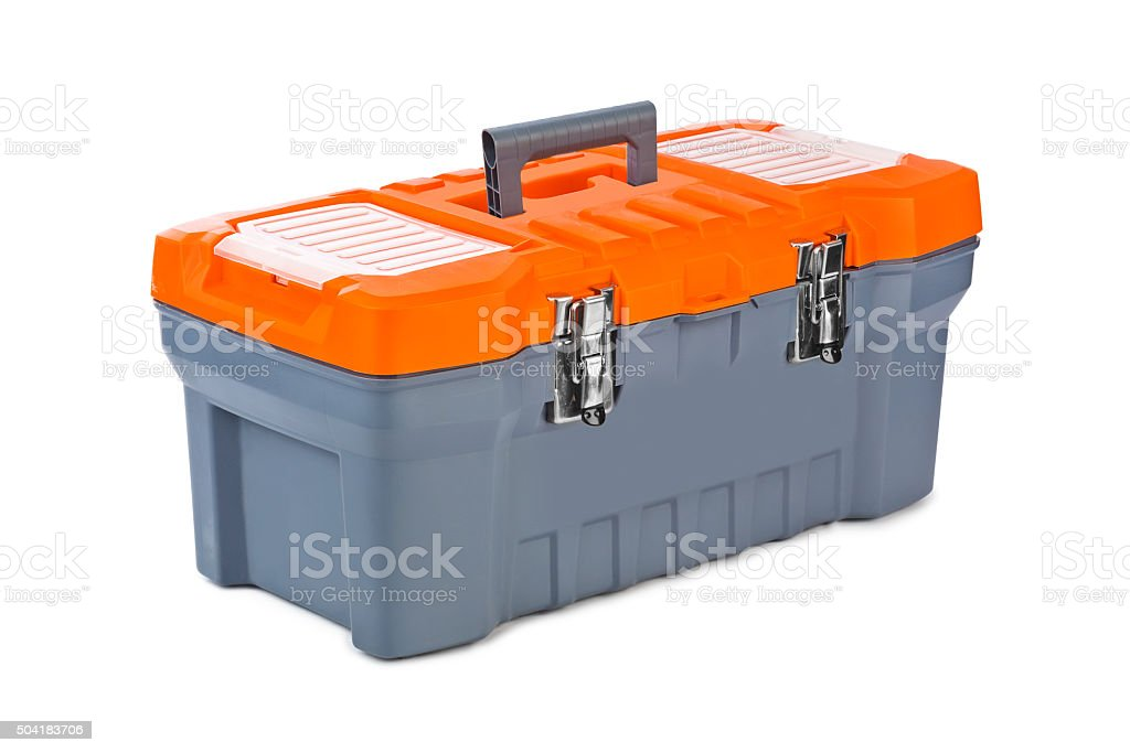 Tool box stock photo