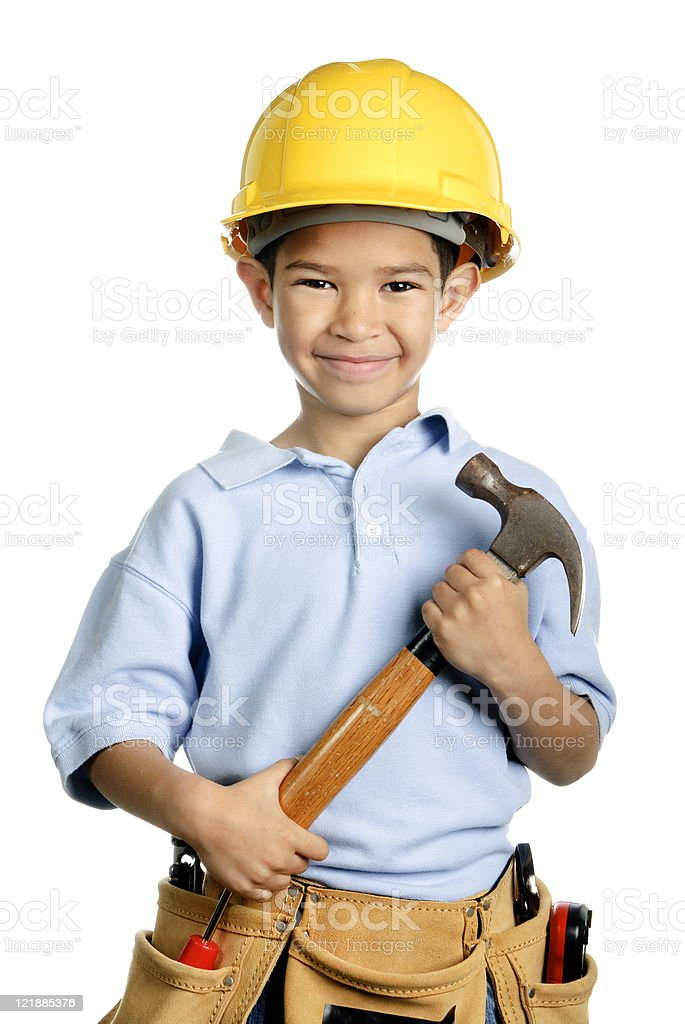 Tool Boy royalty-free stock photo