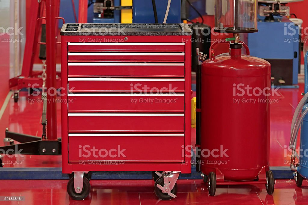 Tool Chest stock photo