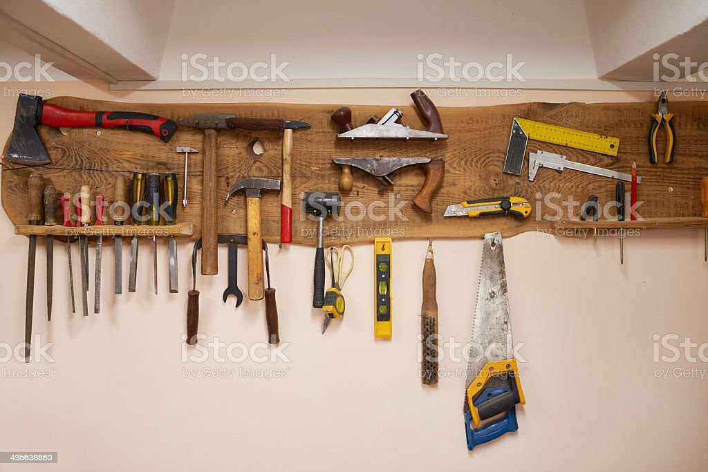 Tool holder stock photo