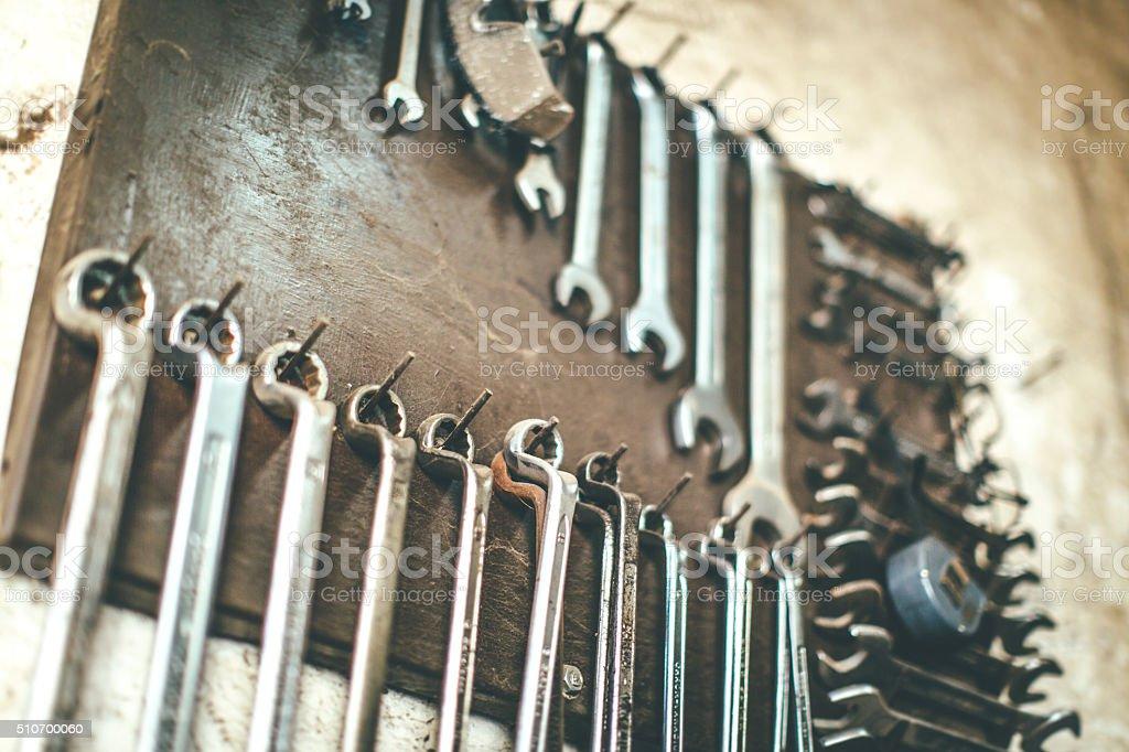 Tool Set stock photo