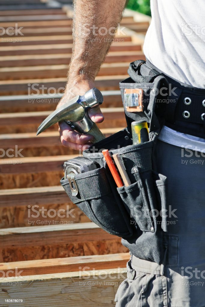 Toolbelt royalty-free stock photo