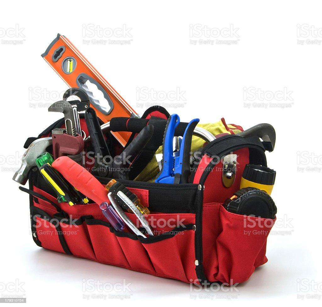 'Toolbox, Construction, Home Improvement, Repair Tools,  - Isolat' stock photo