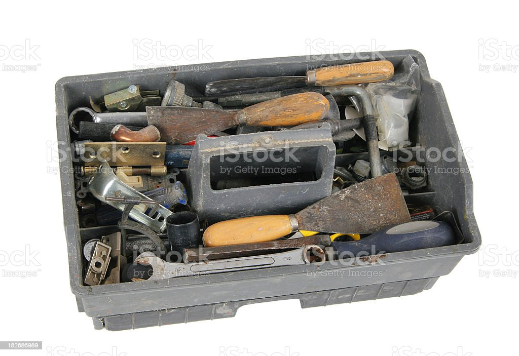 Toolbox royalty-free stock photo