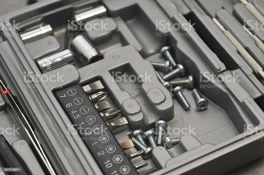 toolbox Werkzeugkiste stock photo