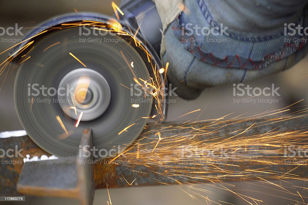Tools angle grinder royalty-free stock photo