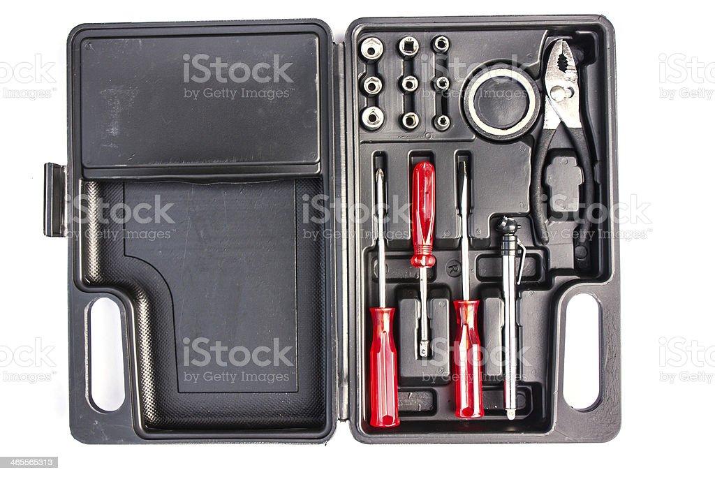 Tools boxset royalty-free stock photo