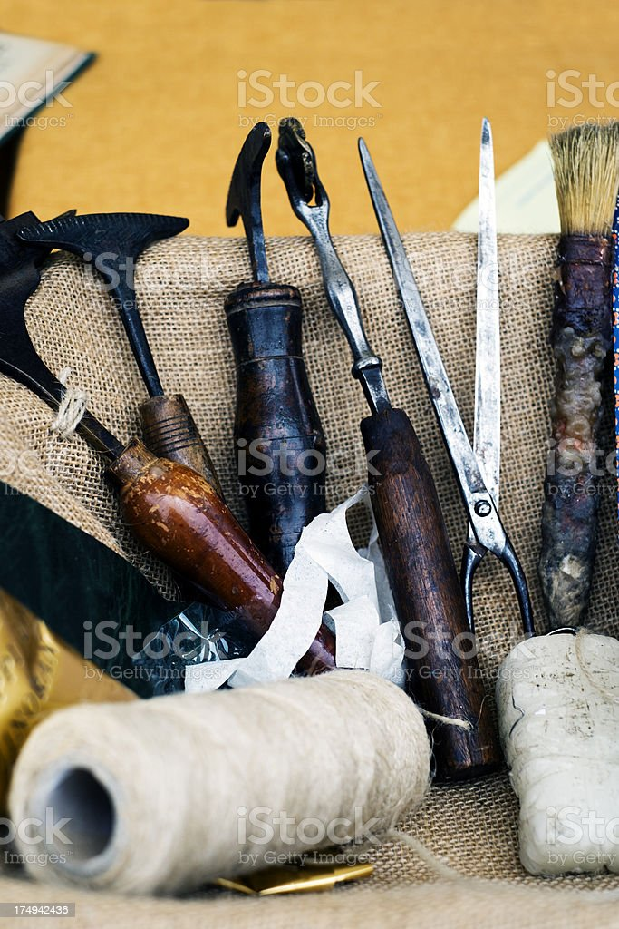 Tools. Color Image stock photo