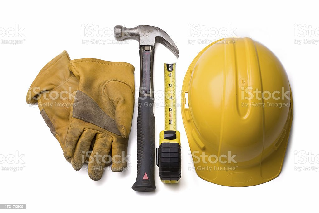 Tools: Construction royalty-free stock photo