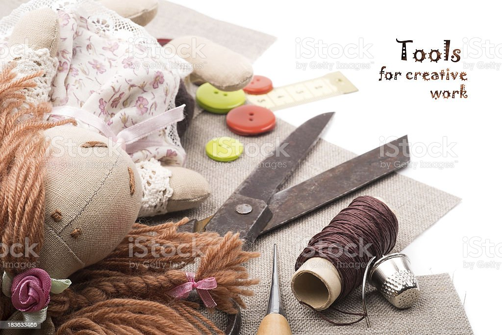 Tools for creative work royalty-free stock photo