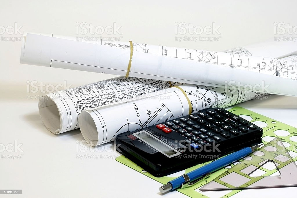 Tools for Engineer royalty-free stock photo