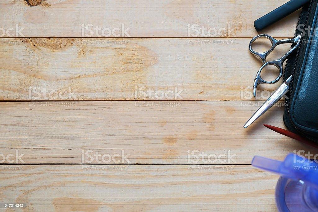 Tools for haircut Lizenzfreies stock-foto