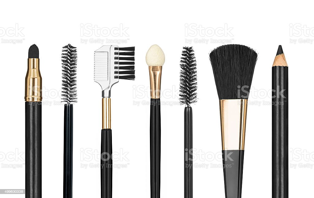 Tools for make-up stock photo
