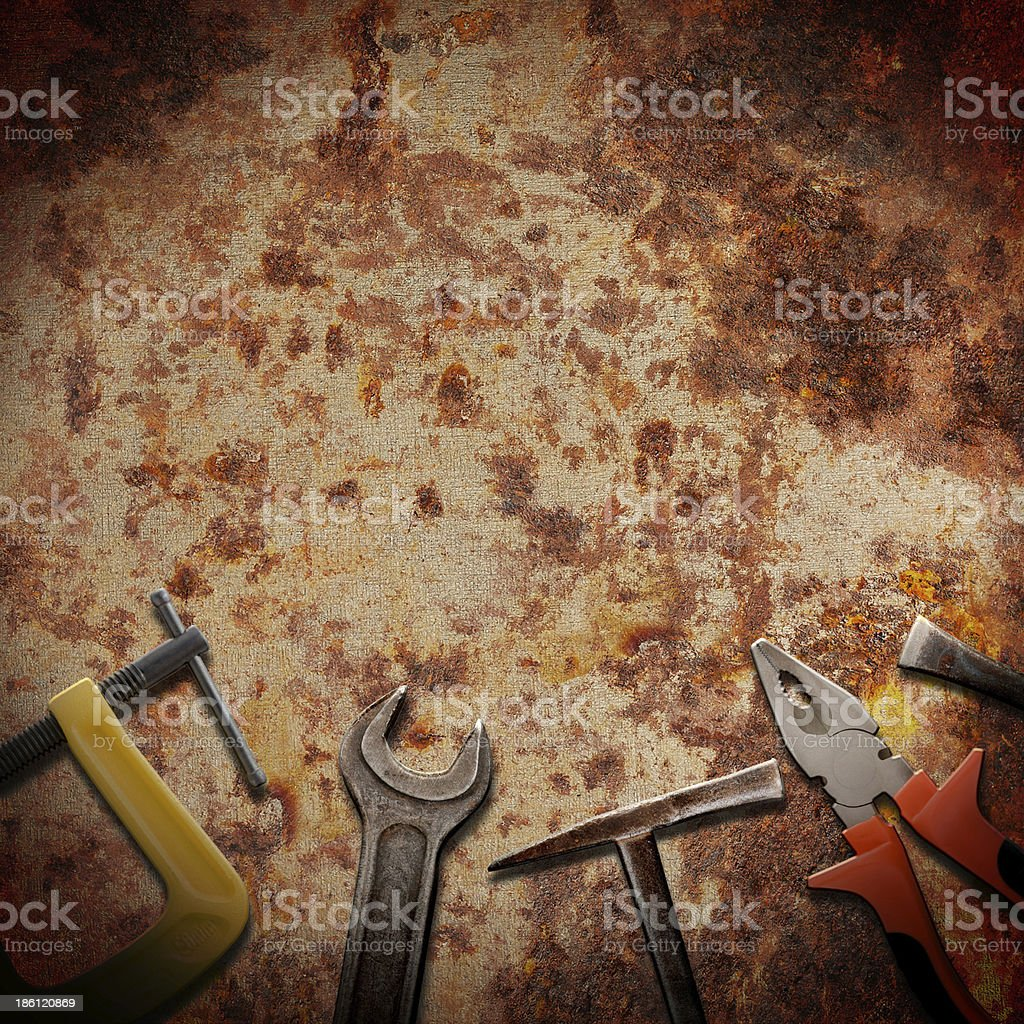 tools for repairs royalty-free stock photo