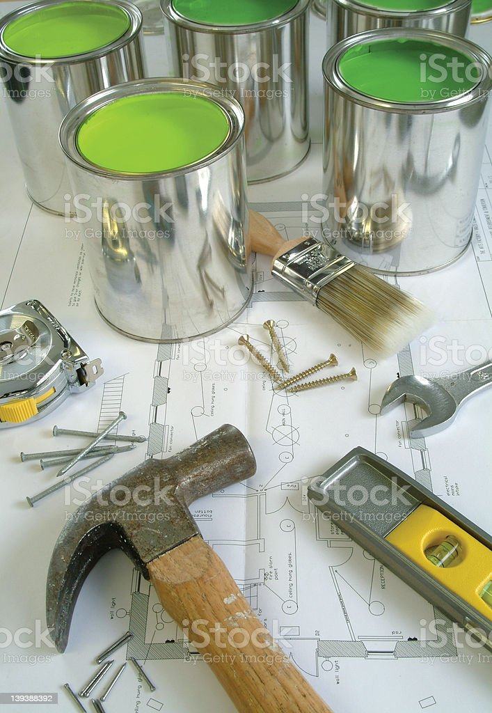 tools for the job royalty-free stock photo