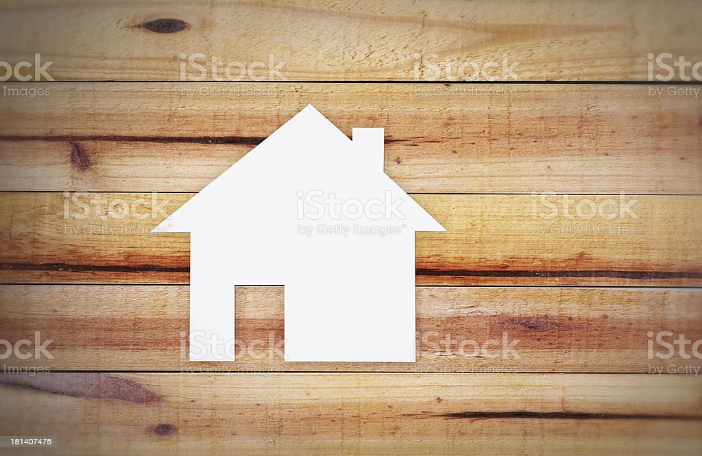 tools in the shape of house royalty-free stock photo