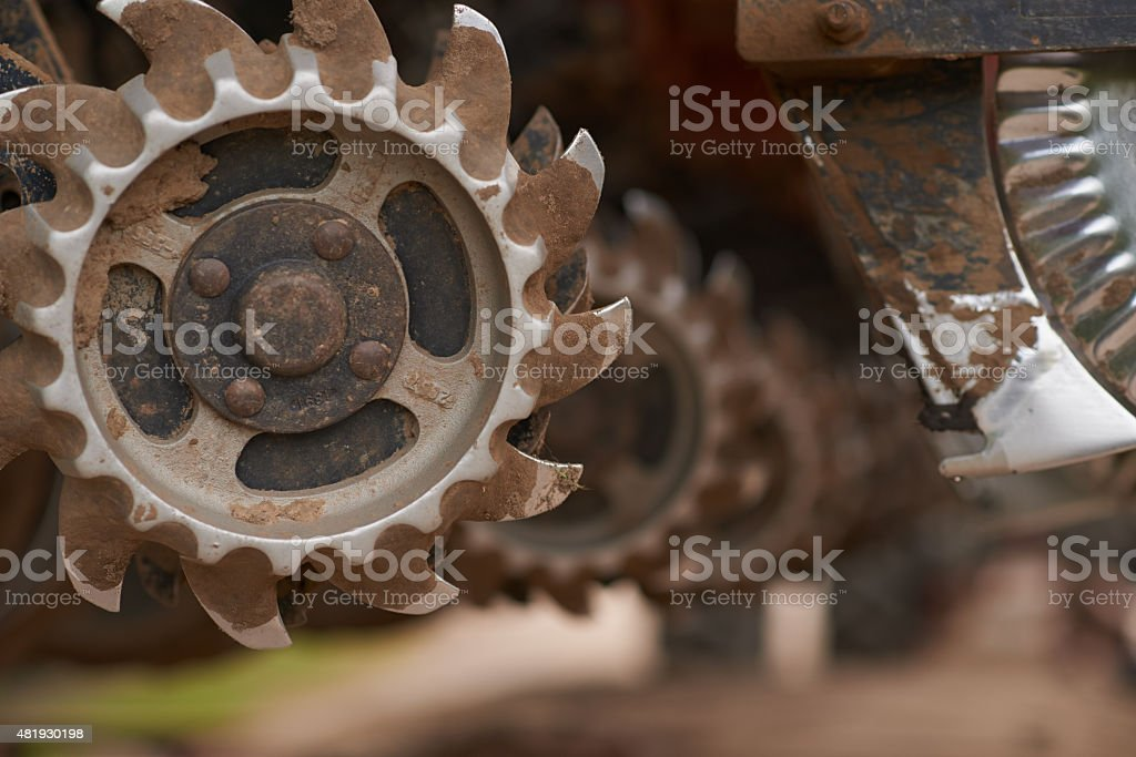Tools of agriculture stock photo