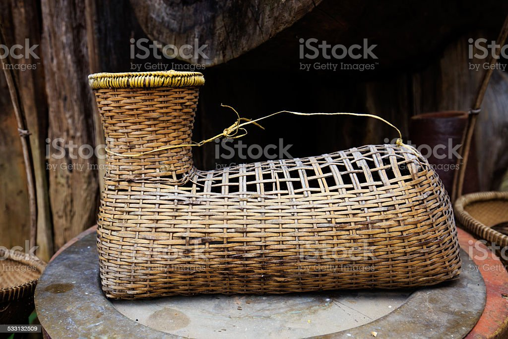 Tools of ethnic group in VietNam. royalty-free stock photo