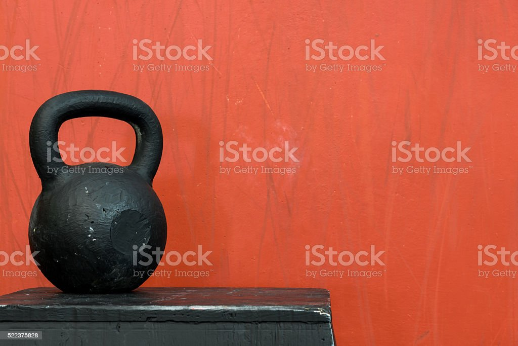 Tools of fitness and performance stock photo