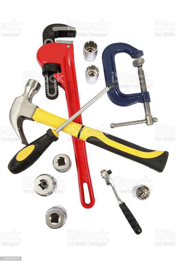 DIY tools royalty-free stock photo