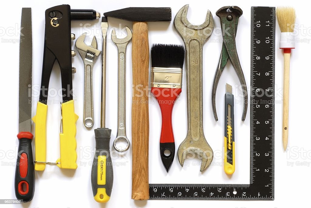 Tools royalty-free stock photo