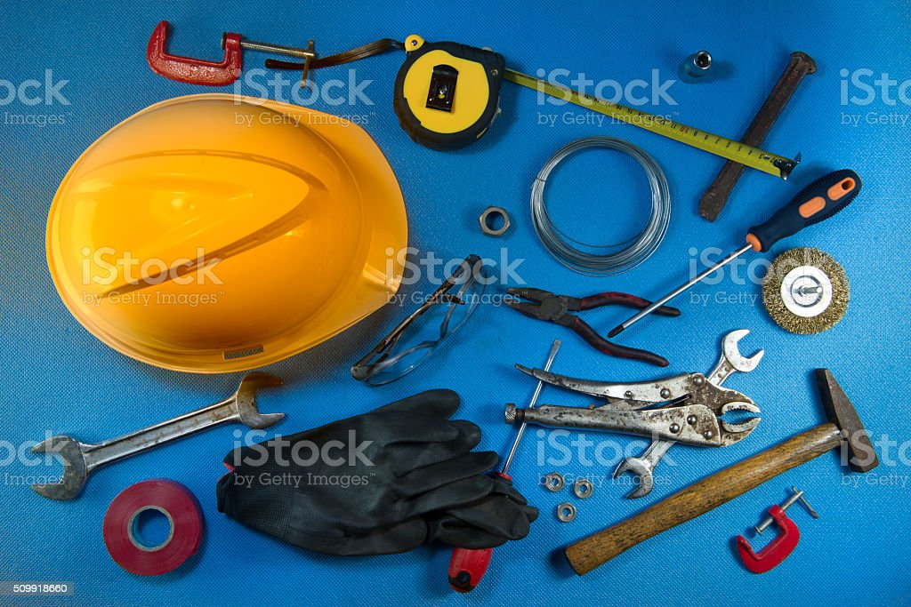 Tools & SAfety stock photo