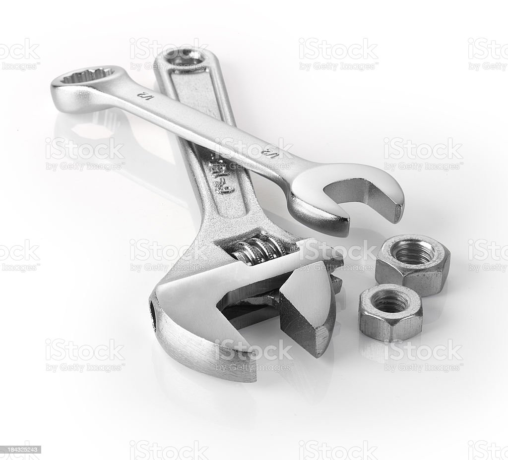 tools wrench royalty-free stock photo