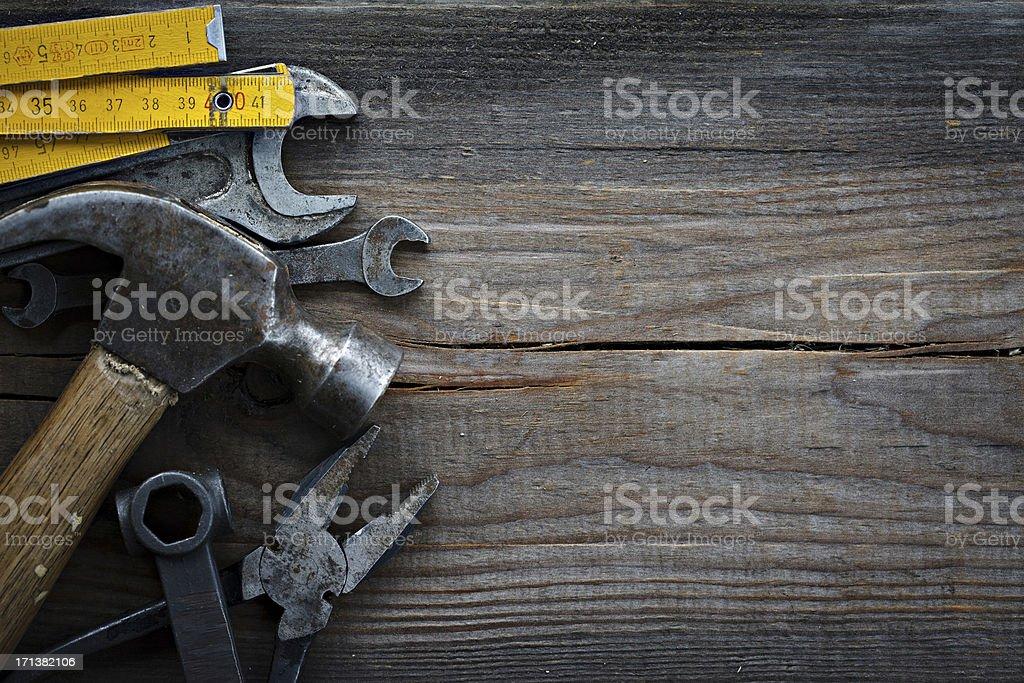 Tools. XXXL royalty-free stock photo