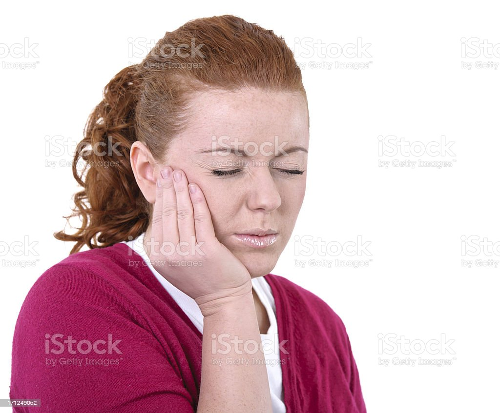tooth ache royalty-free stock photo