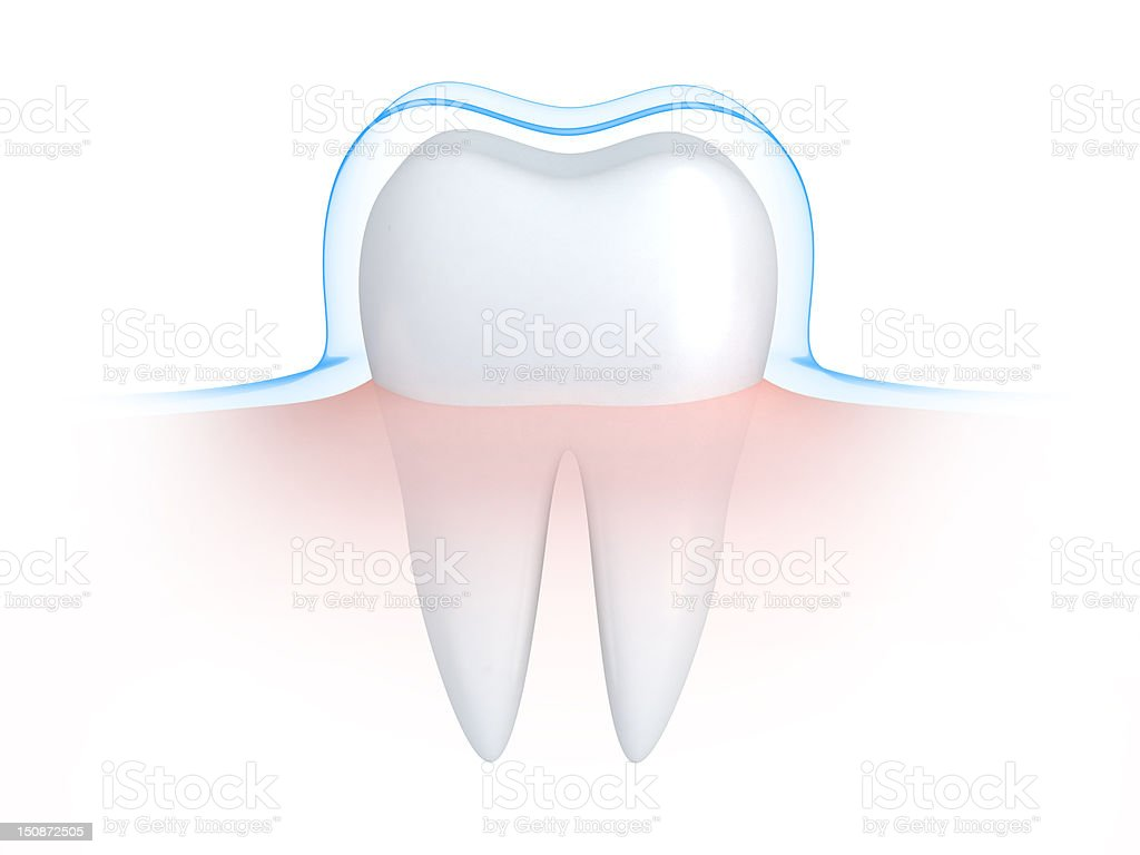 Tooth and defence royalty-free stock vector art