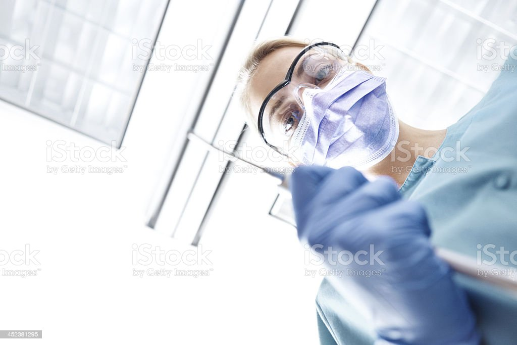 Tooth decay is no laughing matter... royalty-free stock photo