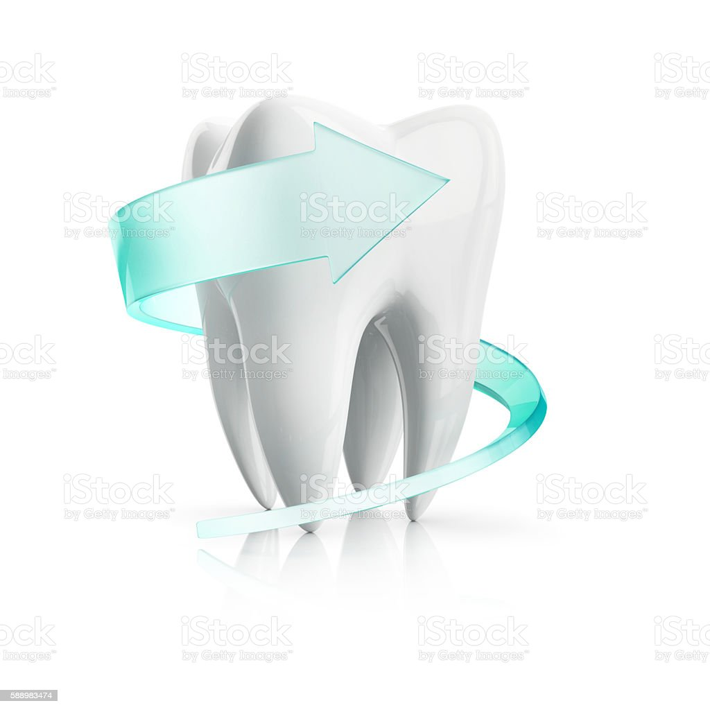 tooth protection stock photo