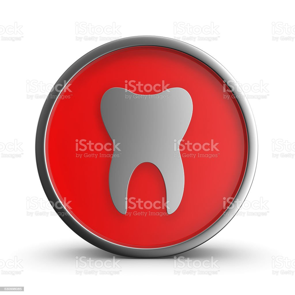 Tooth Sign. royalty-free stock photo