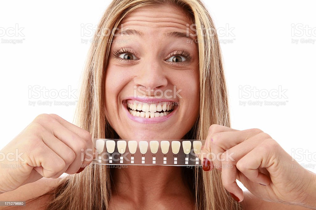 tooth whitening royalty-free stock photo