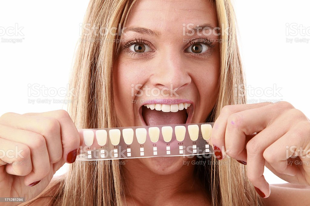 tooth whitening stock photo