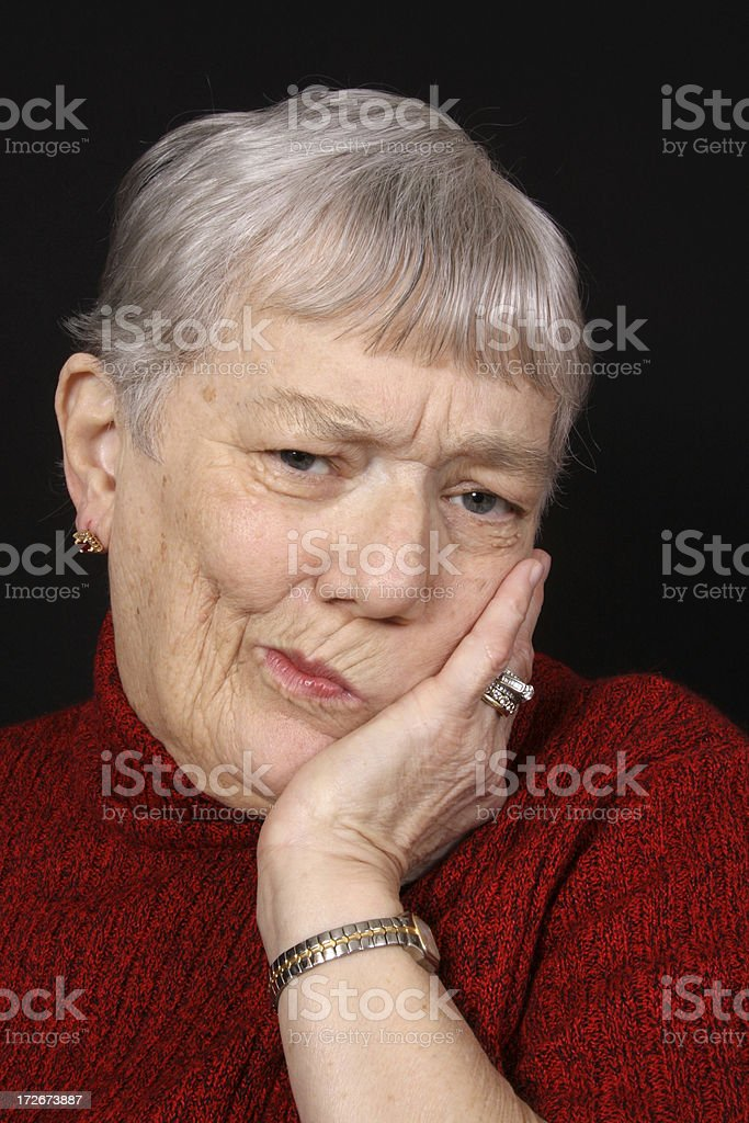 Toothache royalty-free stock photo