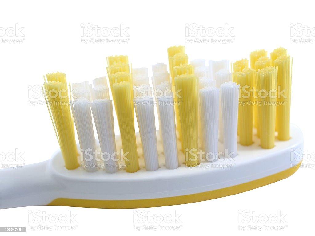 Cepillo de dientes foto de stock libre de derechos