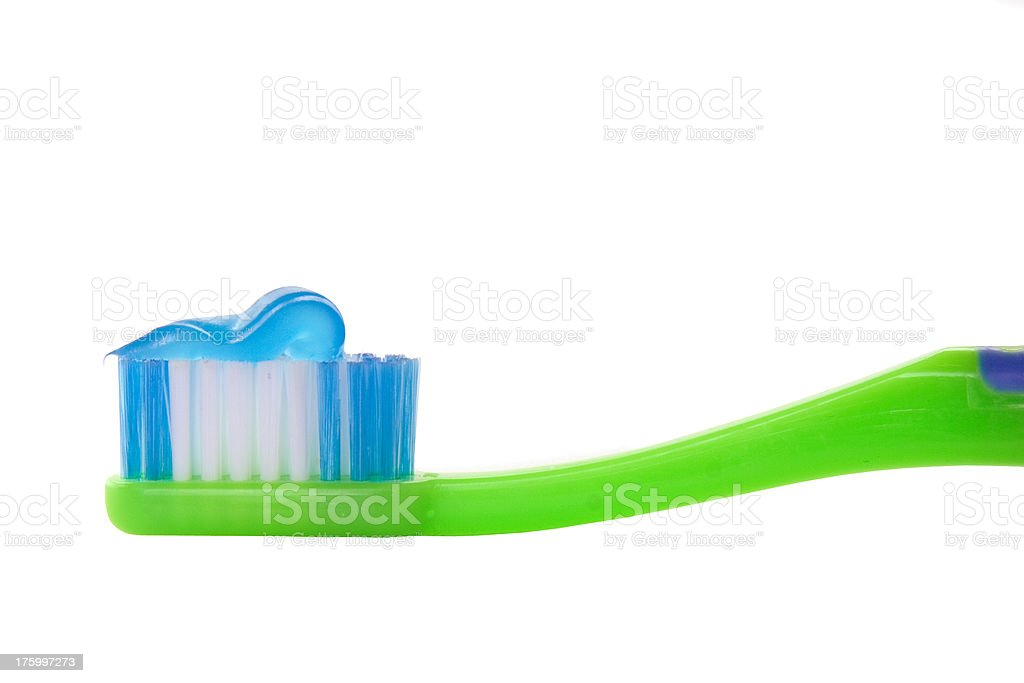 Toothbrush royalty-free stock photo