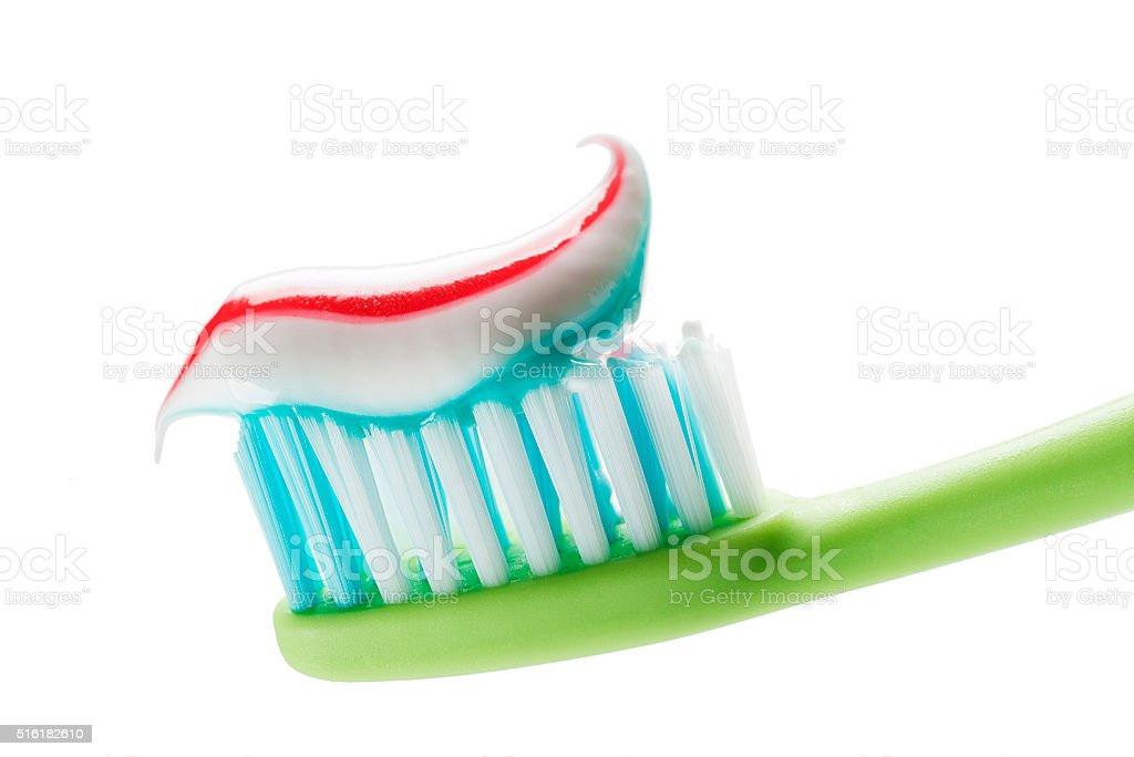 Toothbrush stock photo