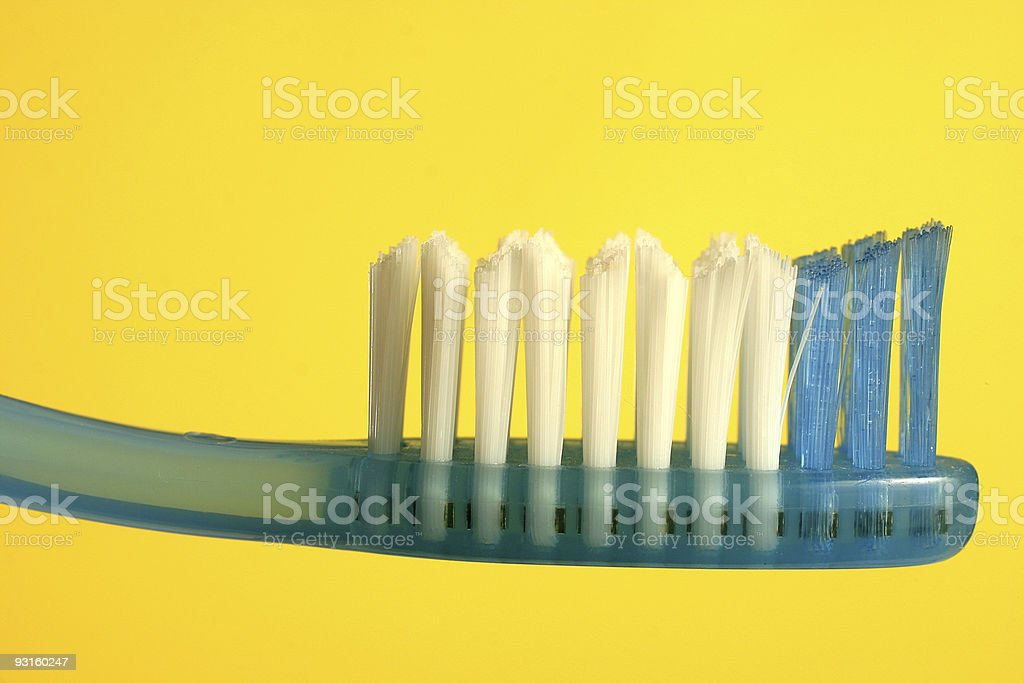 Toothbrush royalty-free stock photo
