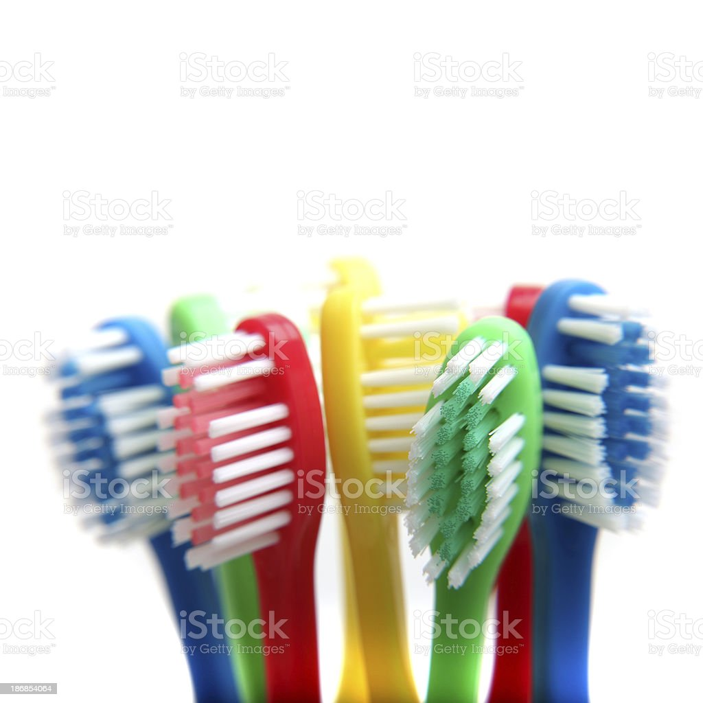 Toothbrushes royalty-free stock photo