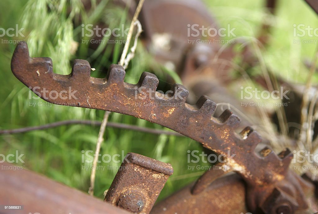 Toothed Lever Arm royalty-free stock photo