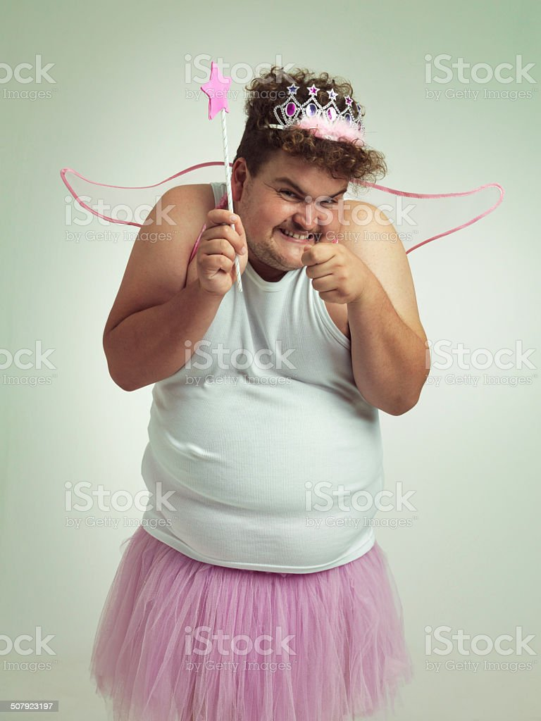 Toothfairy with a twist! stock photo