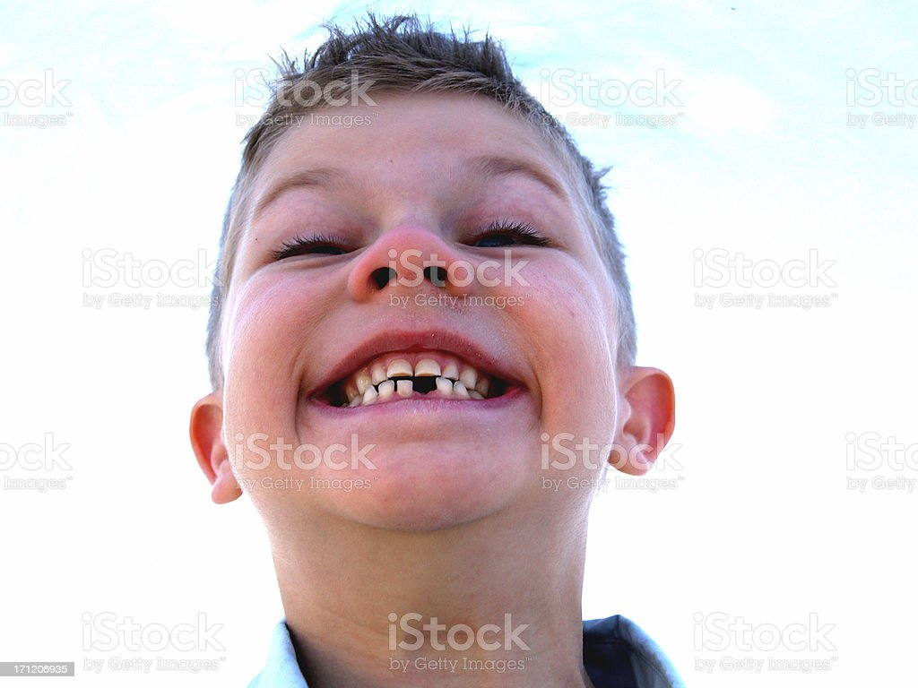 Toothless royalty-free stock photo