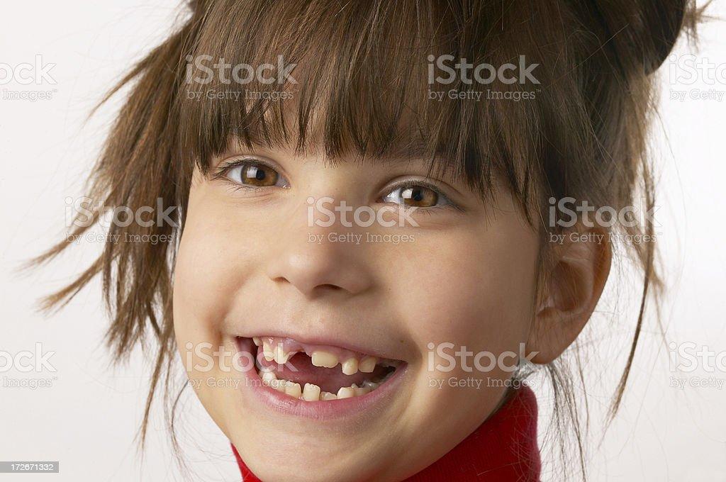 Toothless stock photo
