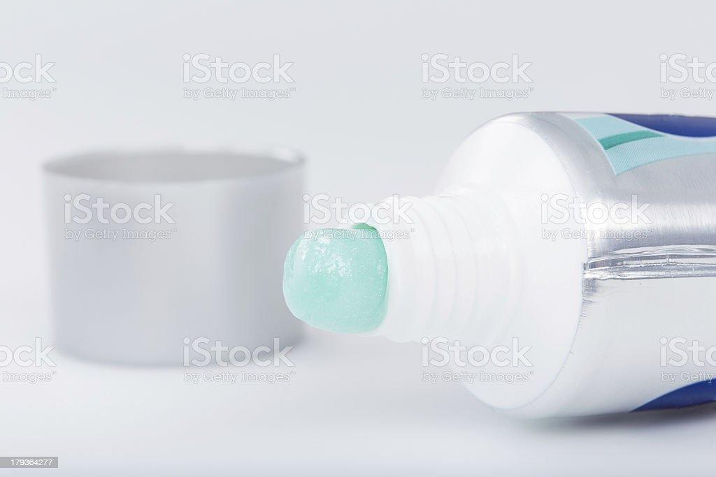 Toothpaste royalty-free stock photo