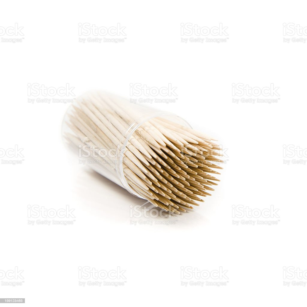 toothpicks royalty-free stock photo